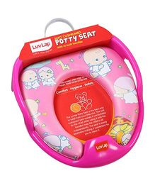 Luv Lap Angel Baby Potty Seat Pink - 18198