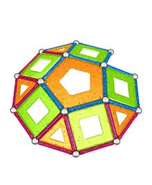 Geomag Panels Glitter Construction Set - 68 Pieces