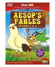 Aesop's Fables DVD Volume 1 And 2 - English And Tamil