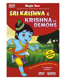 Krishna Stories Pack - English, Tamil