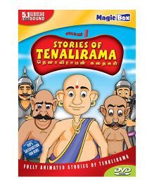 Stories of Tenalirama Volume 1 - English, Tamil