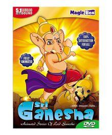 Sri Ganesha DVD - English Hindi Tamil