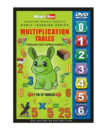Multiplication Tables DVD - English
