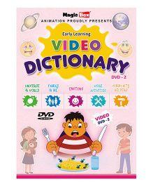 Preschool Video Dictionary DVD 2 - English