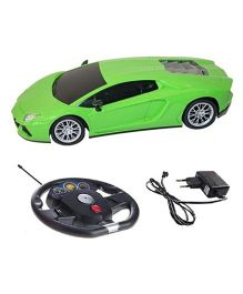 A2B Remote Control Lamborghini With Sensor Steering Car - Green