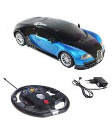 A2B Hi Speed Bugatti Veyron Remote Controlled Car Toy - Blue And Black