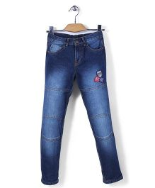 Mothercare Light Wash Jeans - Blue