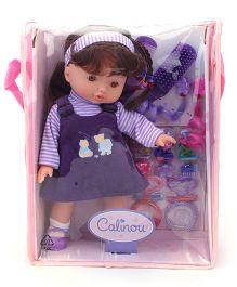 Hamleys Calinou Doll And Fashion Accessories Set - Dark Purple