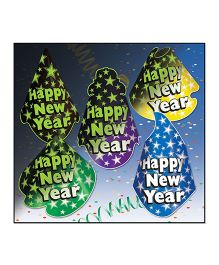 Planet Jashn Happy New Year Hats - Multi Color