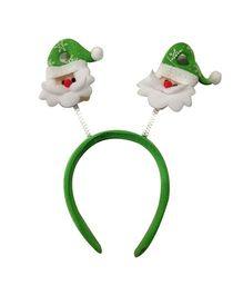 Planet Jashn Santa Face Head Bopper - Green