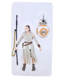 FUNSKOOL Star Wars Rey Jakku Figure - White