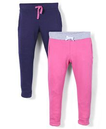Mothercare Jogger Pack Of 2 - Pink & Navy