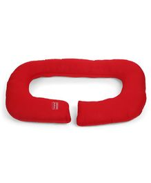Babyhug C Shape Maternity Pillow - Red