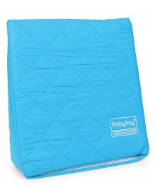 Babyhug Wedge Pillow With Quilted Cover - Blue