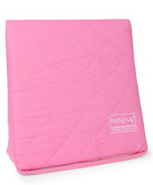 Babyhug Wedge Pillow With Quilted Cover - Pink