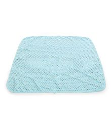 Simply Printed Baby Wrapper - Blue