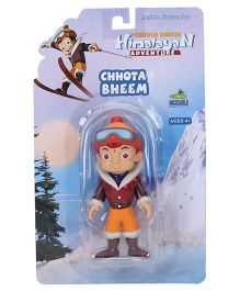 Chhota Bheem Himalayan Adventure Action Figure Toy - Height 9.5 cm