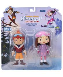 Chutki And Bheem Figure Toy - 9.5 cm