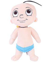 Raju Plush Soft  Toy Cream - Height 13 Inches