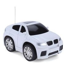 Playmate Mini Remote Controlled Race Car Toy - White
