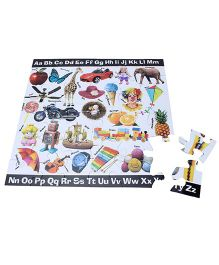 Ratnas ABC Jigsaw Puzzle Book