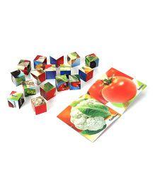 Ratnas Crazy Vegetable Blocks - 16 Pieces