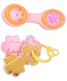 Ratnas Baby Rattle Toy - 2 Pieces