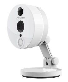 Foscam C2 Indoor HD 1080 P Wireless Plug And Play IP Camera - Off White