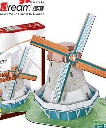 Buildream Holland Windmill 3D Puzzle - 45 Pieces