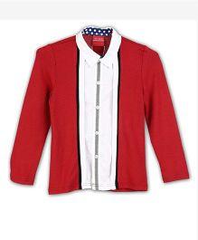 Lilliput Kids Full Sleeves Shirt - Red