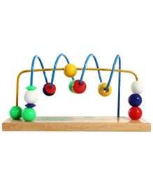 Little Genius Wooden Beads Shuttles Spiral