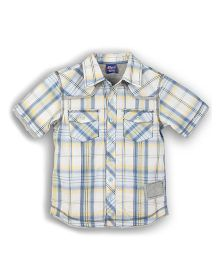 Lilliput Kids Summer Cool Yarn Dyed Check Shirt - Multicolor