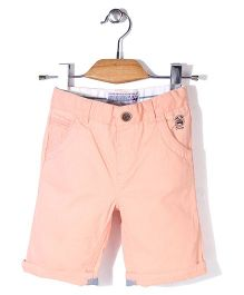 Mothercare Twill Knee Length Shorts - Orange
