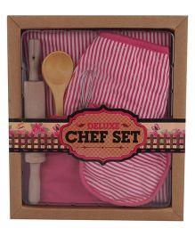 Hamleys Deluxe Chef Set - Pink