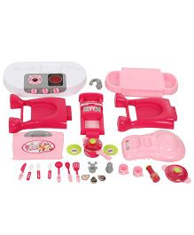Comdaq Inductive Kitchen Playset - Pink