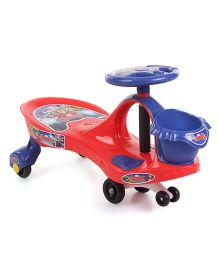 Avengers Swing Car With Basket - Red