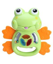 Winfun Light Up Rattles Frog - Orange and Green