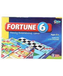 Sunny Fortune 6 Board Games - Set Of 6