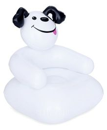 Suzi Happy Puppy Sofa Chair - White