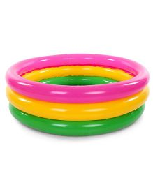 Suzi 3 Ring Swimming Pool - Red And Yellow
