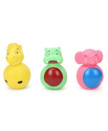 Speedage Rock Animal Squeaky Bath Toys - Set Of 3