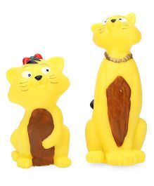Speedage Squeezy Cats - Pack Of 2