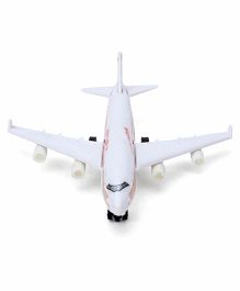 Speedage Jumbo 747 Plane Toy - White