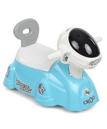 Shadilal Robotic Dog Shape Potty Chair - Blue And White
