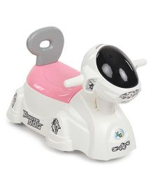Shadilal Robotic Dog Shape Potty Chair - White