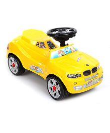 Shadilal Sunway Manual Push Ride On Yellow - 5505