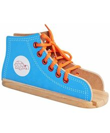 Little Genius - Wooden Lacing Shoe