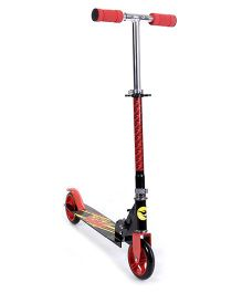 Hot Wheels 2 Wheel Scooter - Red And Black