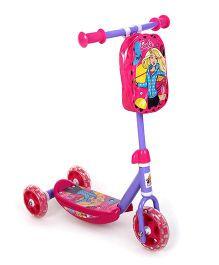 Barbie Three Wheel Scooter - Pink