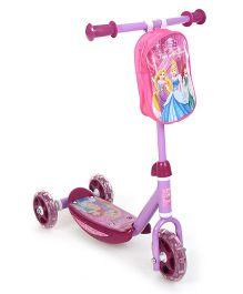 Disney Princess 3 Wheel Scooter - Purple